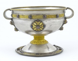 why invest in gold. Gold inlay seen on the Ardagh Chalice