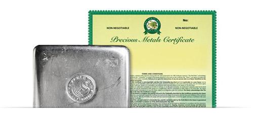 PMCP – Unallocated Platinum