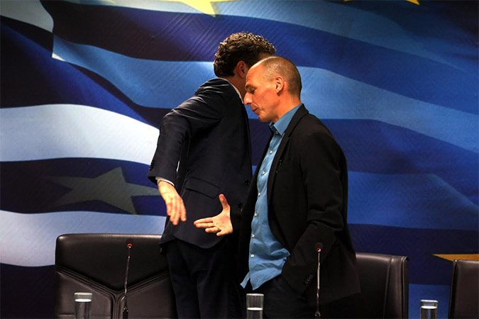Varoufakis and Dijsselbloem