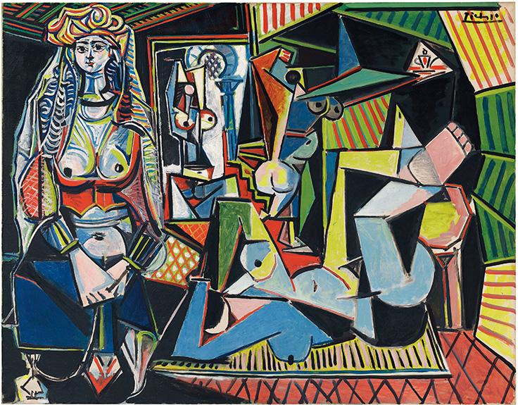 """Pablo Picasso's """"Les Femme d' Alger"""""""