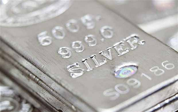 Silver demand outstripping supply   Photo: BLOOMBERG