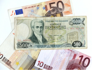 """Eurozone Faces Many Threats Including Trade Wars and """"Eurozone Time-Bomb"""" In Italy Eurozone Faces Many Threats Including Trade Wars and """"Eurozone Time-Bomb"""" In Italy euro drachma 300x226"""