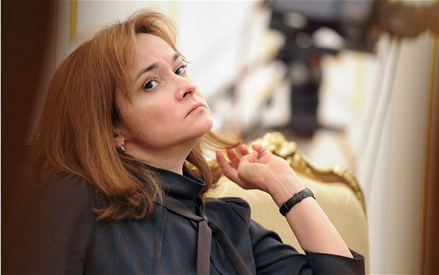 Russian Central Bank Governor, Elvira Nabiullina