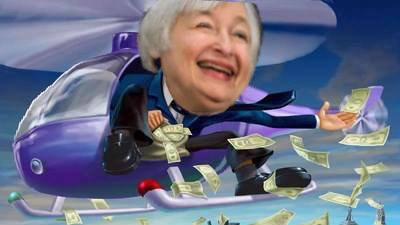 "Janet Yellen Federal Reserve Gold Surges to $1,313/oz – Fed Concerned Re Outlook, BREXIT and May ""Consider Using Helicopter Money"" Gold Surges to $1,313/oz – Fed Concerned Re Outlook, BREXIT and May ""Consider Using Helicopter Money"" Fed helicopter"