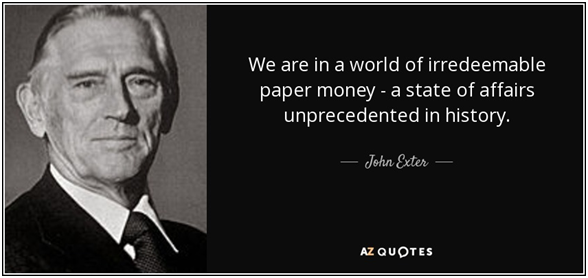 GoldCore: John Exter Quote