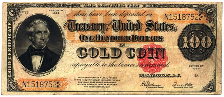 Us-gold-certificate-1922