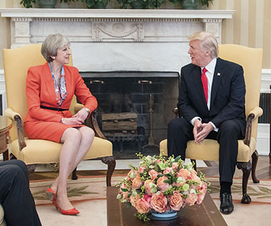 Trump, UK and the Middle East drive uncertainty Trump, UK and the Middle East drive uncertainty TRUMP MAY