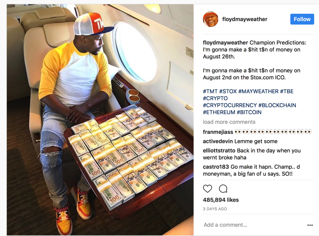 bitcoin, ico risk versus immutable gold and silver Bitcoin, ICO Risk Versus Immutable Gold and Silver Mayweather Insta 1024x759