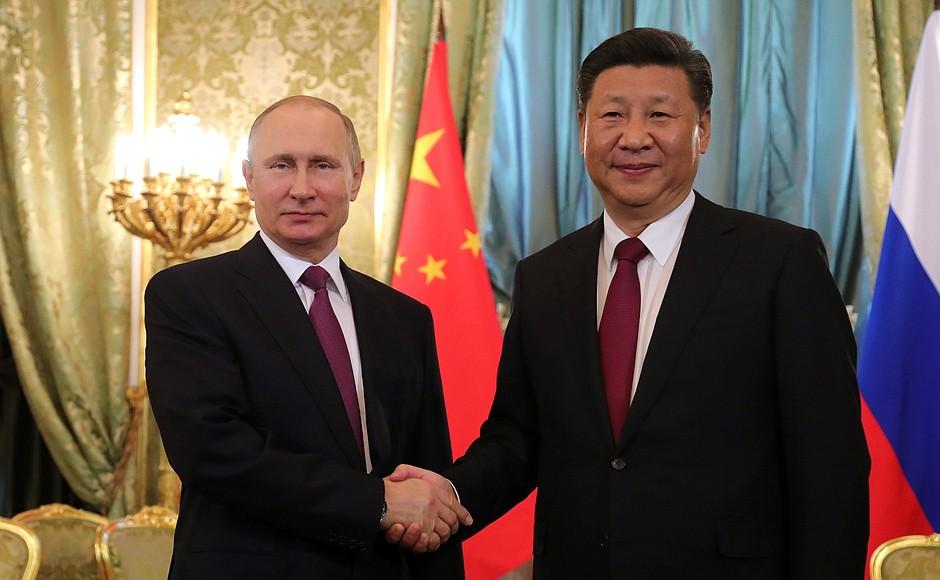 Putin Xi deal