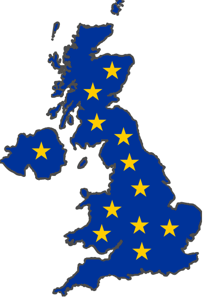 Stumbling UK Economy Shows Importance of Gold Stumbling UK Economy Shows Importance of Gold UK with EU flag elements interposed