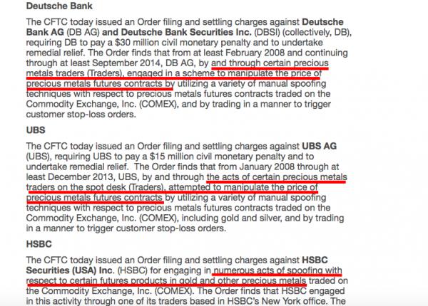 Gold Bullion Price Suppression To End? Bullion Bank Traders Arrested For Manipulating Market large screen shot 2018 01 29 at 12