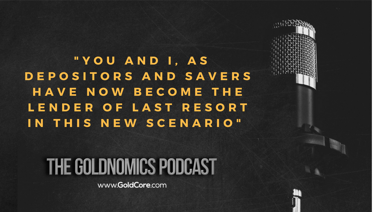 Gold $10,000? Goldnomics Podcast Quotations and Transcript Gold $10,000? Goldnomics Podcast Quotations and Transcript 22