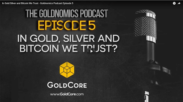 Gold $10,000 In Currency Reset as Russia, China Gold Demand To Overwhelm Futures Manipulation (GOLDCORE VIDEO) podcast 5 youtube screen 1
