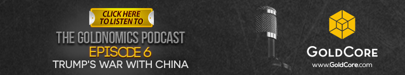 Trump and War With China? Goldnomics Podcast Banner