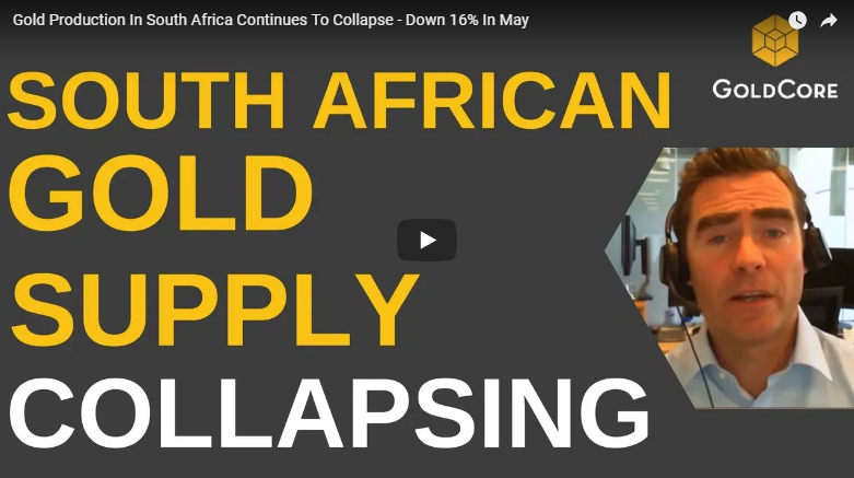 Gold Outlook In H2 2018 south african gold supply collapsing video thumb