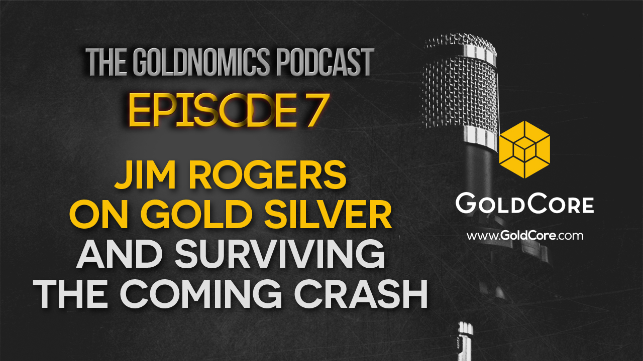 "Jim Rogers on Gold, Silver, Bitcoin and Blockchain's ""Spectacular Future"" Episode 7 Title Alt"
