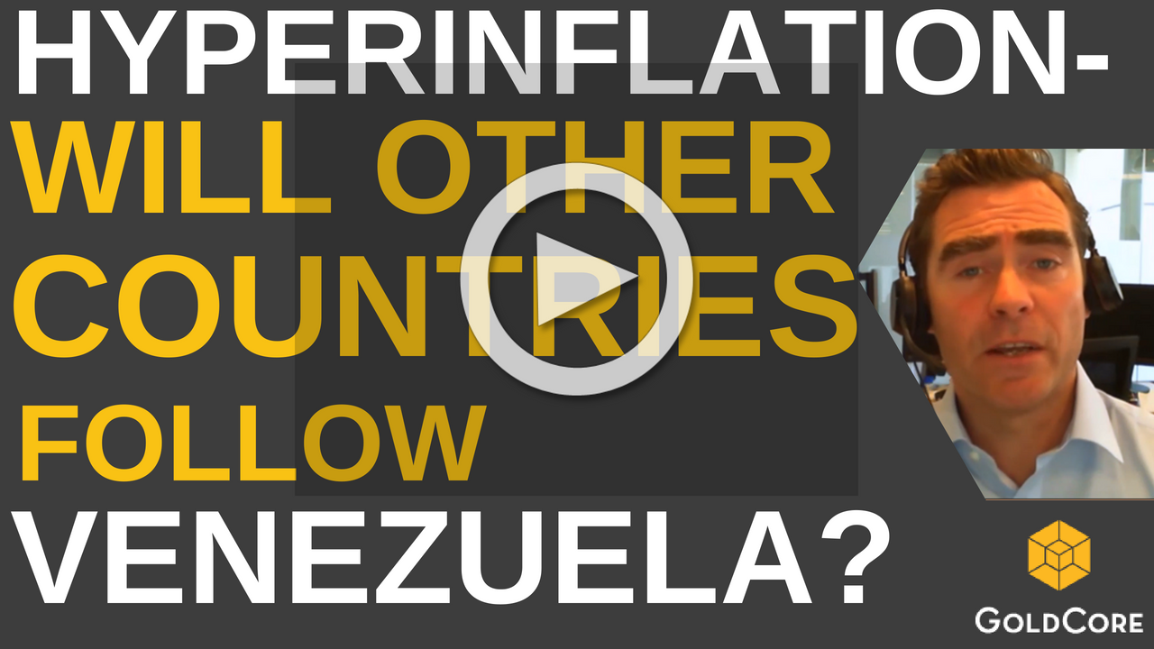 "VIDEO: ""Financial War"" Deepens as Russia Buys Gold and Dollar Hegemony At Risk Venezuela Play"