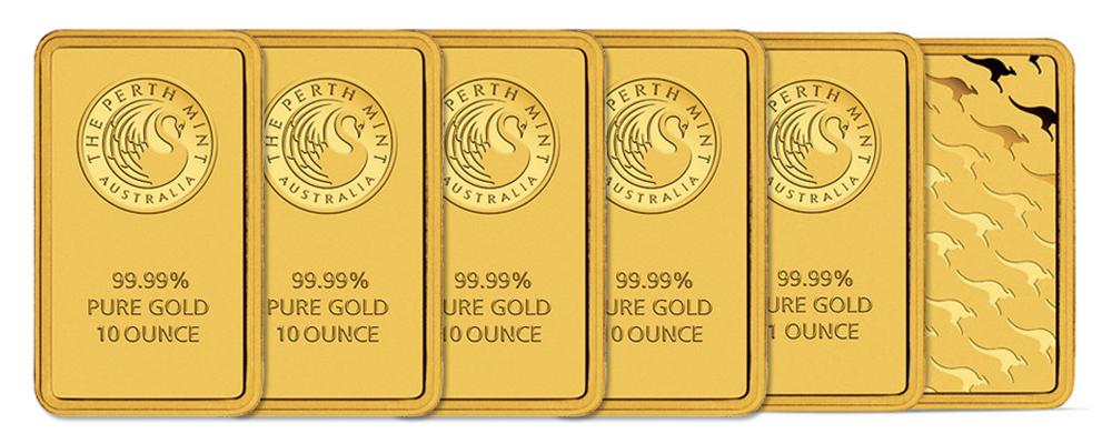 Gold Bars Perth Mint