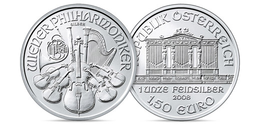 Silver Philharmonic Coins (1 oz) – 20 Per Tube