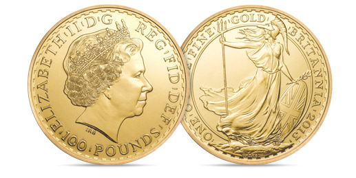 British Gold Britannia