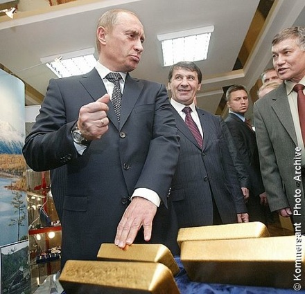 Gold Buying Russia