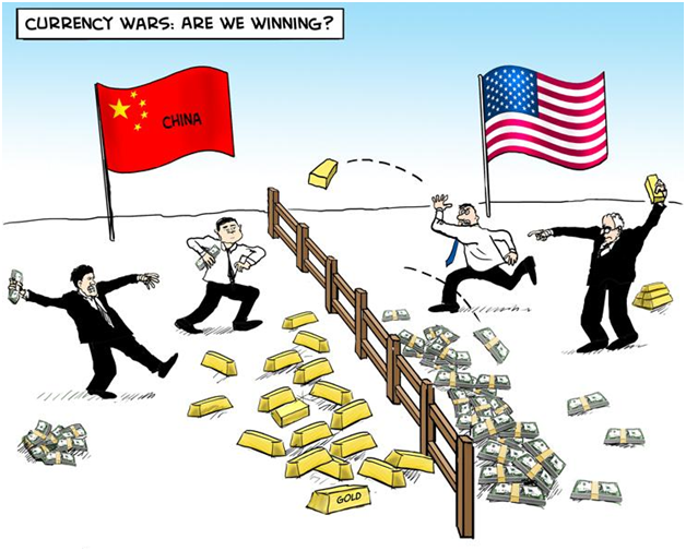 Gold Price Rises After Currency Wars Reignite As China Devalues
