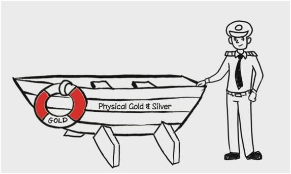 Gold and Silver Lifeboat