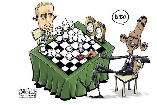GoldCore: Obama and Putin play chess