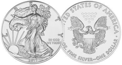 1 Ounce Silver Eagles