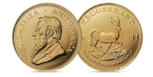 Gold-Krugerrand-Coins